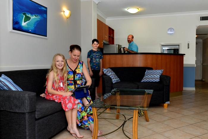 self contained 1 and 2 bedroom apartments in cairns